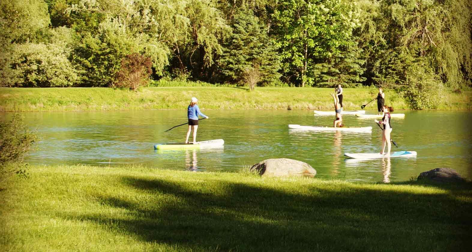 NirvanaRetreats-Pond-Paddleboard